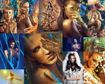 肌膚歐美美女寫真攝影高清圖片