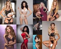 歐洲美女內衣模特攝影高清圖片
