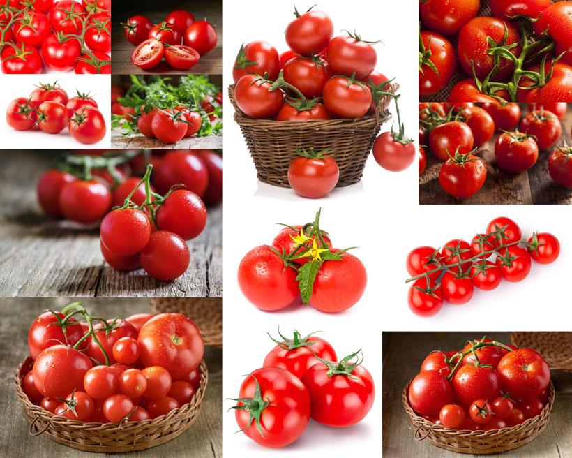 新鲜西红柿展示摄影高清图片 - 爱图网设计图片素材