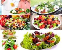 蔬菜水果沙拉展示摄影高清图片