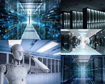 科技与数码机器人摄影高清图片