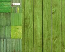 绿色木板背景摄影高清图片
