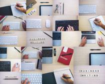 键盘商务办公摄影高清图片
