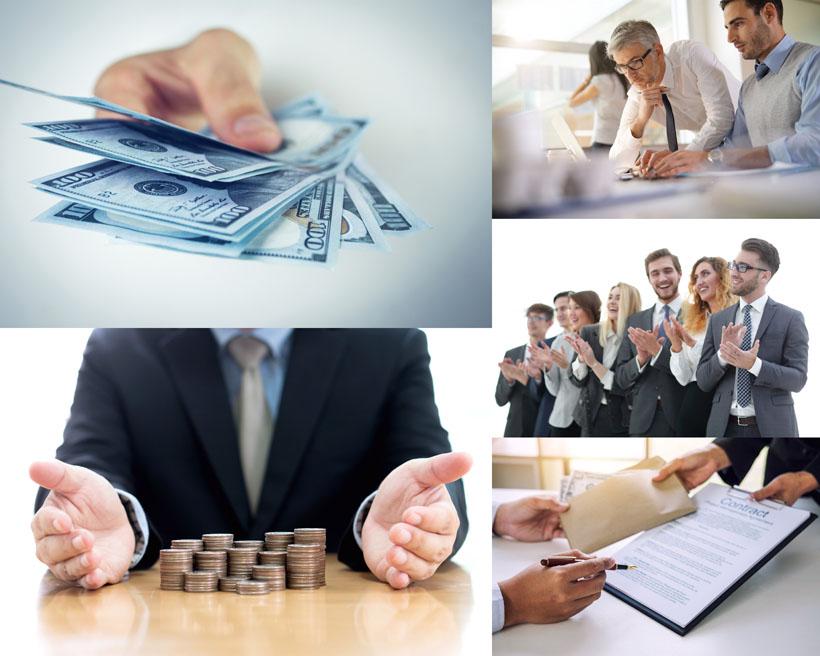 金融商务人士拍摄高清图片