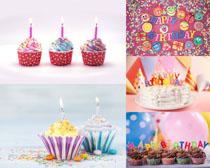 漂亮的生日蛋糕攝影高清圖片