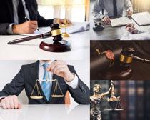 工作的法官摄影高清图片