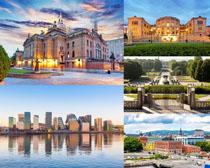 歐美環境城市建筑攝影高清圖片