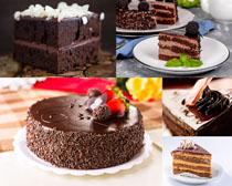 巧克力甜品蛋糕摄影高清图片