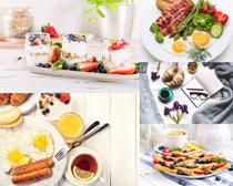 营养商务早餐摄影高清图片