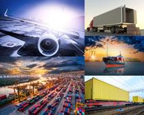 大型货运交通工具摄影高清图片