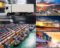 货运港口与交通工具摄影高清图片