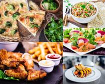 油炸食物摄影高清图片