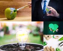 环保商务展示摄影高清图片