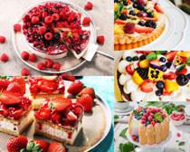 蛋糕水果甜品摄影高清图片