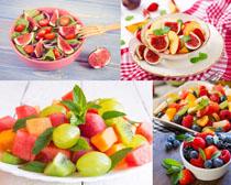 水果拼盘展示摄影高清图片