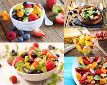 营养水果拼盘摄影高清图片
