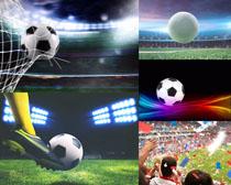足球體育運動拍攝高清圖片