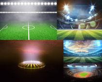 足球場地拍攝高清圖片