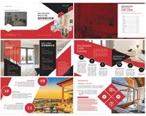 室內設計宣傳畫冊PSD素材