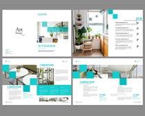 企业文化画册PSD素材