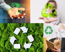 商务人士与环保摄影高清图片