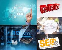 网站SEO网络商务摄影高清图片