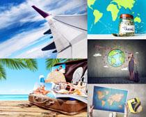 旅游行李计划摄影高清图片