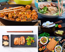 国外西餐美食摄影高清图片