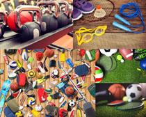 體育運動裝備攝影高清圖片
