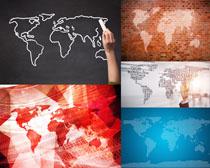 地图图形背景摄影高清图片