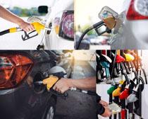 加油站汽车摄影高清图片