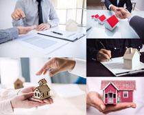 房子销售人物摄影高清图片
