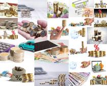 金币货币金融摄影高清图片