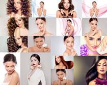 模特化妆美容女子摄影高清图片