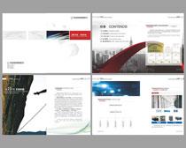 经典科技画册设计矢量素材