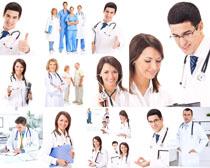 欧美职业医生摄影高清图片