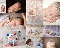 熟睡的宝宝摄影高清图片