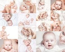 婴儿宝宝与妈咪摄影高清图片
