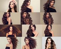 欧美时尚发型美女摄影高清图片