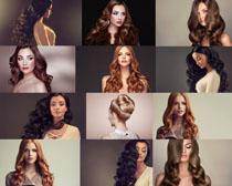 模特美女发型设计摄影高清图片