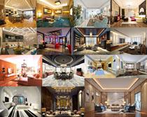 豪華室內設計風格攝影高清圖片