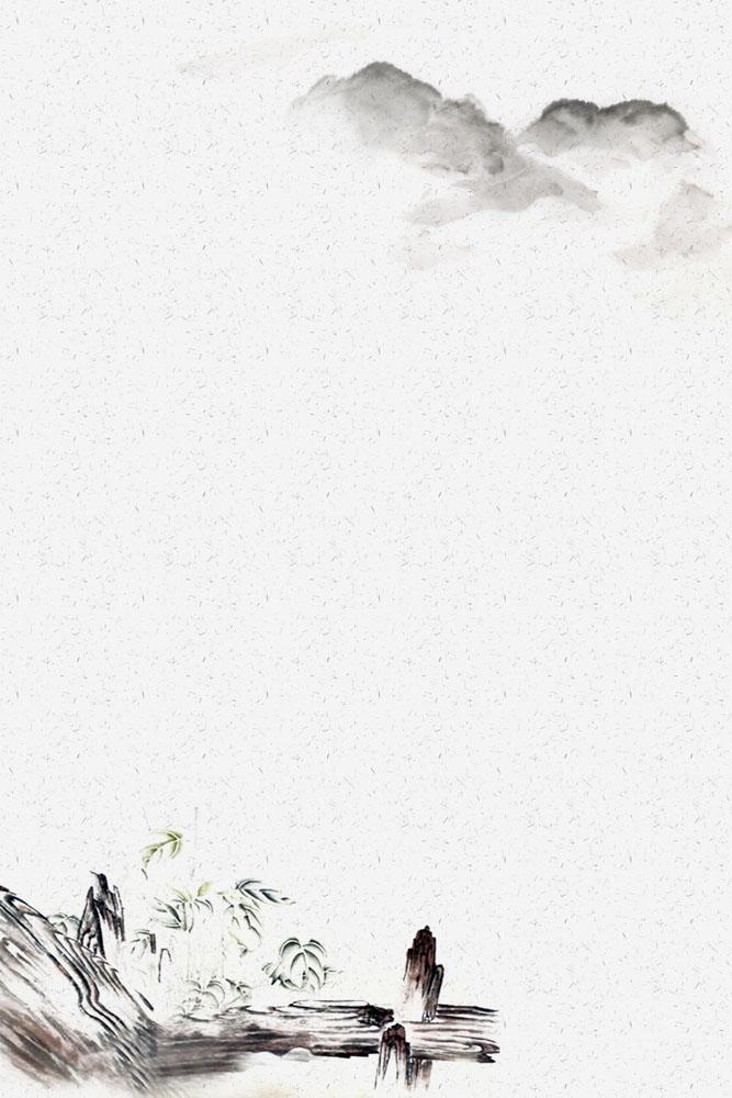 文化艺术 > 素材信息   关键字: 风景绘画水墨背景中国风书画素材工笔