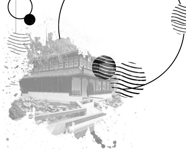 封面房屋建筑PSD素材