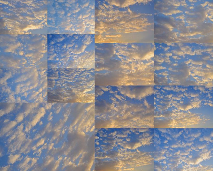 天空云层摄影高清图片