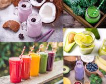 夏日果汁饮品摄影高清图片