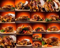 美食烤鸭摄影高清图片