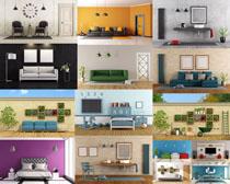 室內布置風格攝影高清圖片