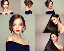 欧美美女发型摄影高清图片