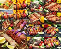 烧烤食材食物摄影高清图片
