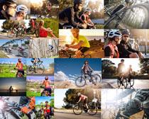 山地自行车人物摄影高清图片
